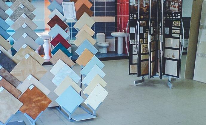 Выбор плитки и сантехники, дизайн-проект